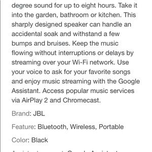 JBL Other - JBL Link Portable Bluetooth Waterproof Speaker